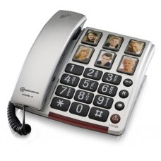 Large button telephone with 6 x One-Touch photo dial buttons