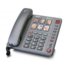 Amplicomms powertel 92 big button photo dial telephone
