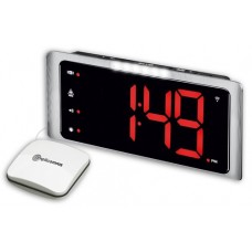 Big time display vibrating alarm clock for deaf people Amplicomms TCL410