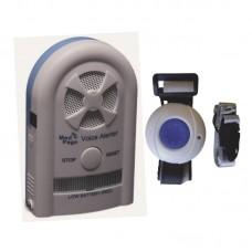 CTMV-ERTX Recordable voice alarm receiver with call pendant button