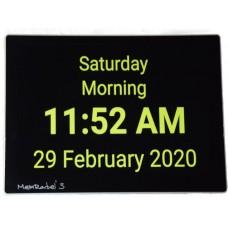 MemRabel 3 Touch screen memory prompting alarm calendar clock