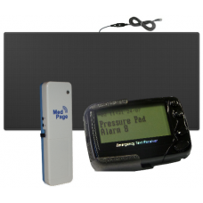 NMDTX-FMATKIT Heavy duty non-slip floor pressure mat with long range transmitter (400M) & digital data message pager